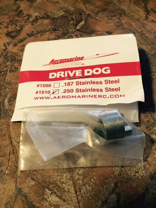 Drive Dog for 1/4 inch Stub Shaft