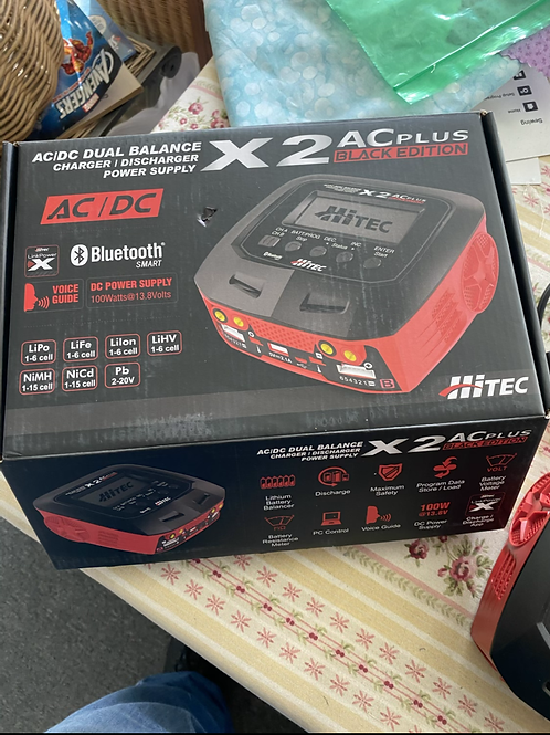 USED DUO CHARGER-HITEC X2 PLUS
