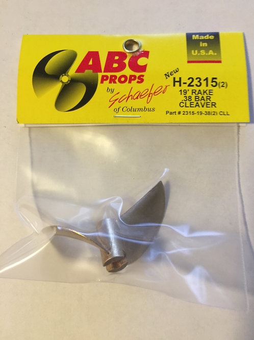ABC 2315-19-38 2 Blade Prop