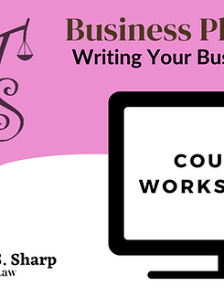 Writing Your Business Plan Course Worksheets