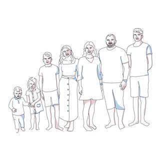 Joonistan karikatuure peredest, paaridest sõpradest jne, mis on ideaalne kink lähedastele.