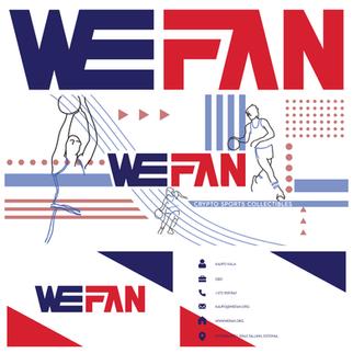 Wefan logo, FB päise pilt ja visiitkaardi kujundus