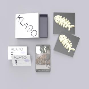 Õpilasfirma Klapo  toote kujundus, logo ja visiitkaardi kujundus