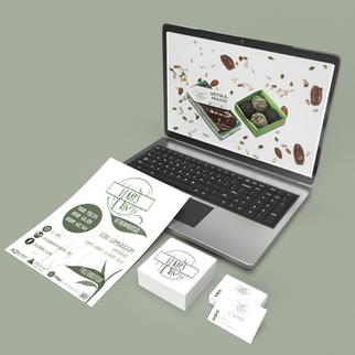 Õpilasfirma Vemps logo, visiitkaardi kujundus ja plakat