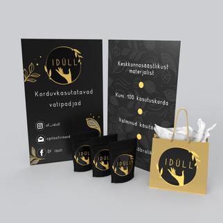 Õpilasfirma Idüll  logo ja plakat