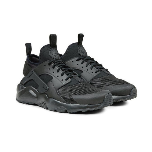 new concept d3949 83be0 Nike Air Huarache Run Ultra Triple Black