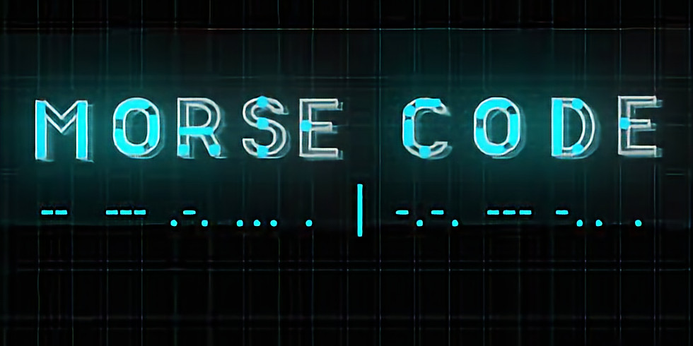 Morse Code Class with Dr. Thombs