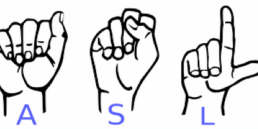 American Sign Language (ASL) With  Dr Thombs