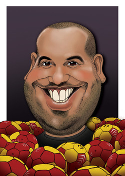 caricature Kamel BQ