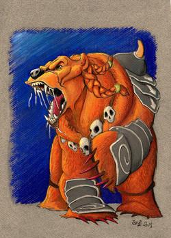 Berserker level 6 color bq