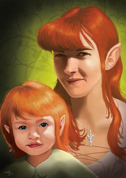 portrait elfe Bubu 03 BQ