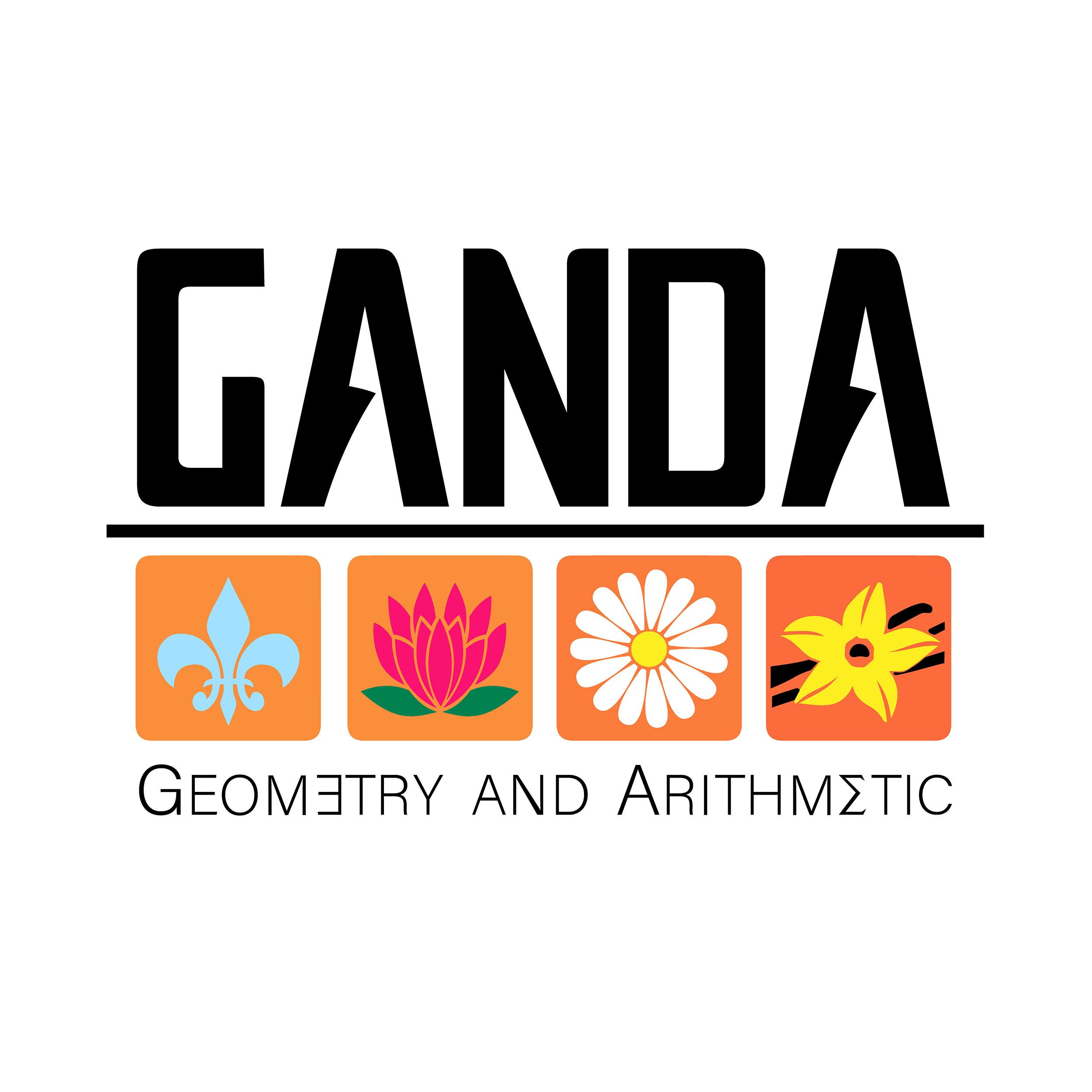 Logo GANDA maths