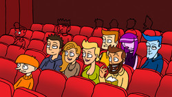 salle de ciné