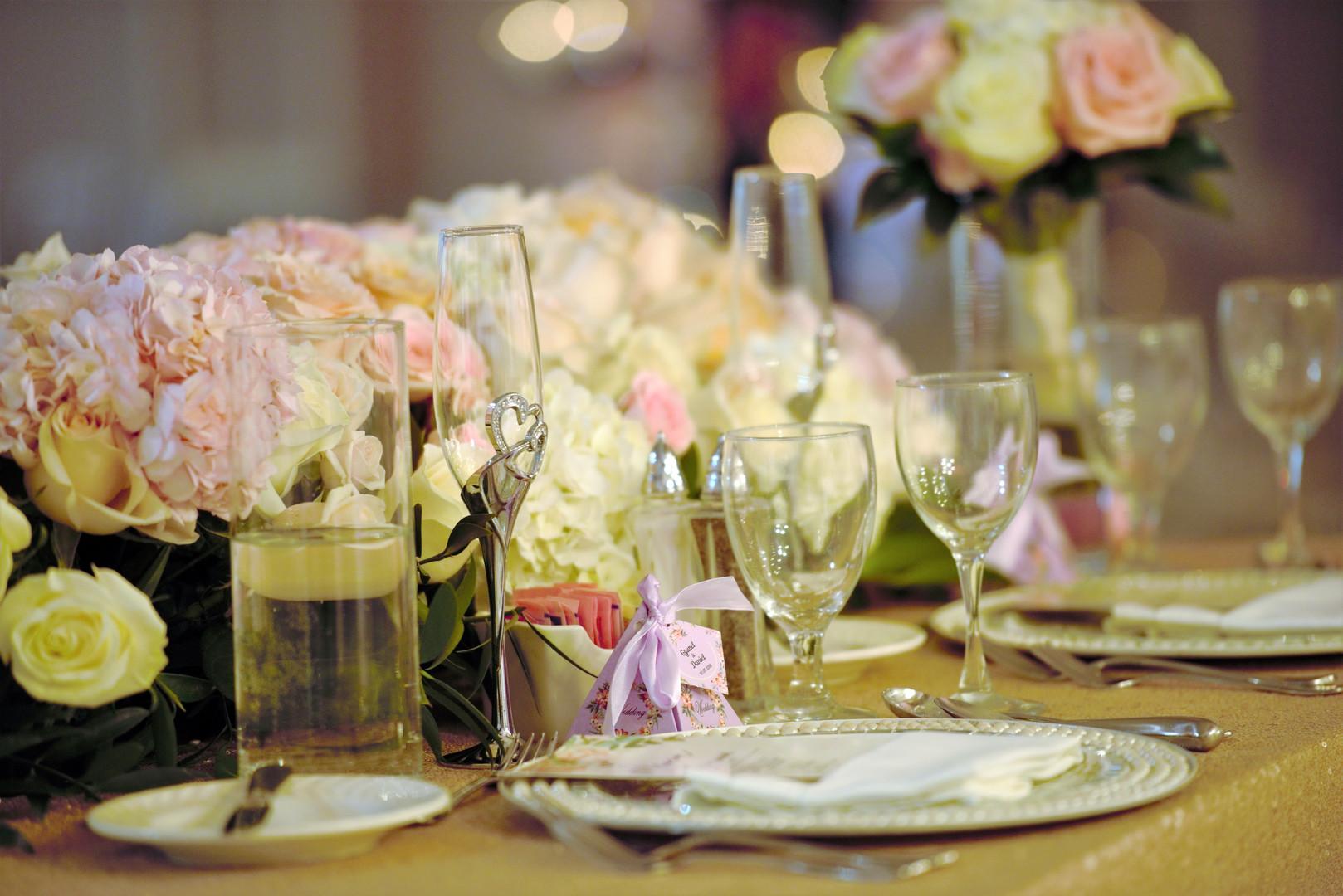 Galaxy Banquets Table design