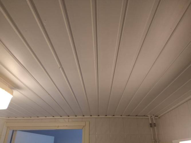 Kylpyhuoneen katto