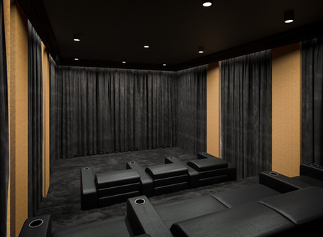 At ISE we will introduce our 1st RaSiKe home cinema design.