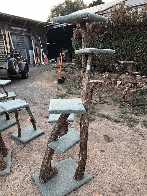 Natural Timber Scratching Post  2m
