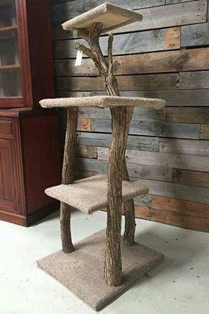 Natural Timber / Outdoor Scratching Posts