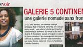 AMINA Belgique, parle de Galerie 5 continents.