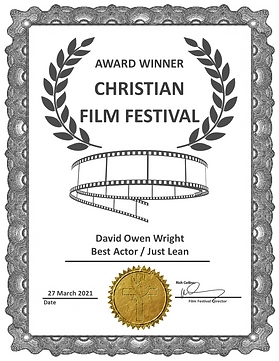 Just Lean Best Actor Award CFF Mar 21 Da