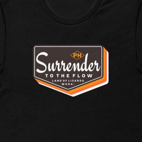 Surrender To The Flow | Bella + Canvas Premium cotton | Short Sleeve