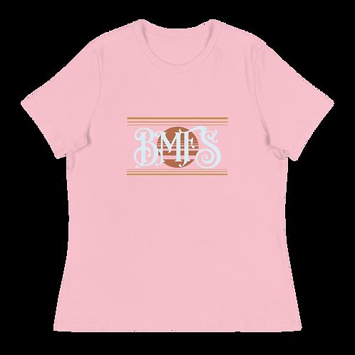 BMFS SUN Women's Relaxed T-Shirt | Bella + Canvas 6400