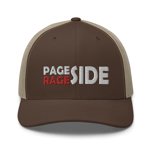 Page Side Rage Side Trucker Cap | Flat Embroidery | Phish Inspired Art