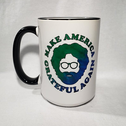 15oz Ceramic Make America Groovy Again Coffee Mug