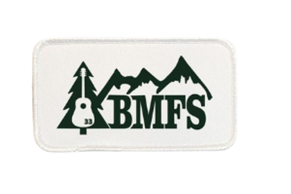 BMFS 33 Tree & Mountains Printed Patch