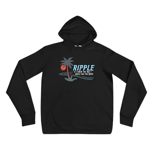 Ripple If I knew the way I would take you home Bella+Canvas Hoodie