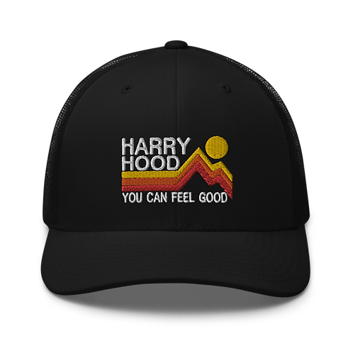 Harry Hood Trucker Snapback Cap   Flat Embroidery   Inspired Phish Lot