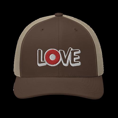 LOVE Donut Trucker Cap | Flat Embroidery | Phish Inspired Art
