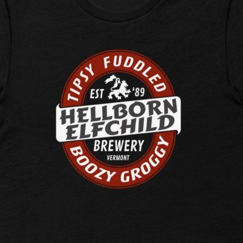 Hellborn Elfchild Tipsy | Bella + Canvas Premium cotton | Short Sleeve