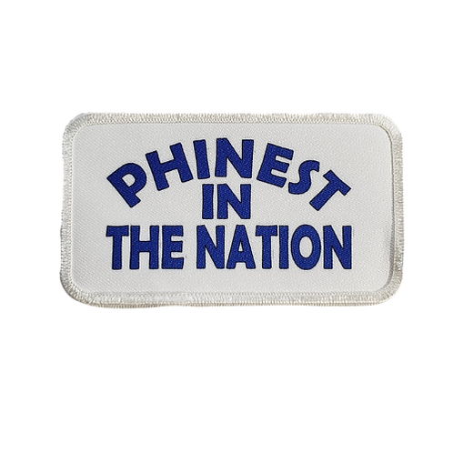 Phinest In The Nation Printed Patch