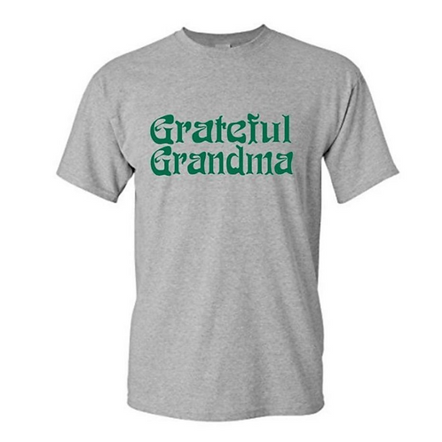 Grateful Grandma Shirt | Gildan Heavy Cotton