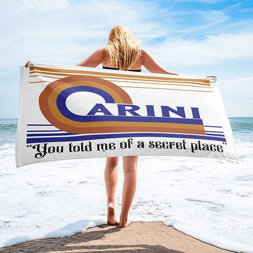 "Carini You Told Me Beach Towel   30""x60""   Sublimation   Phan Art"