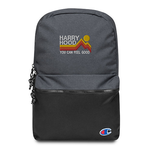 Harry Hood Champion Backpack , Flat Embroidered