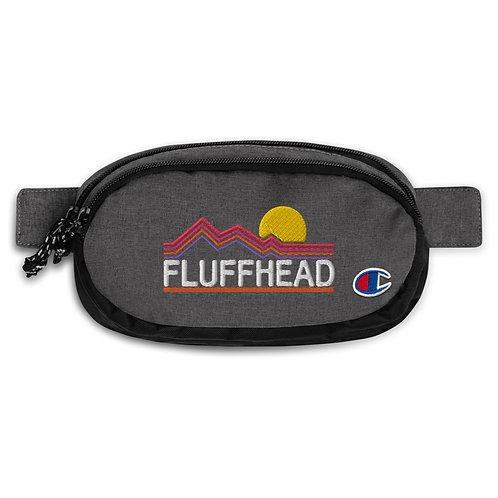 Fluffhead Champion fanny pack   Flat Embroideredb