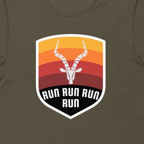Antelope Run Run  | Bella + Canvas Premium cotton | Short Sleeve
