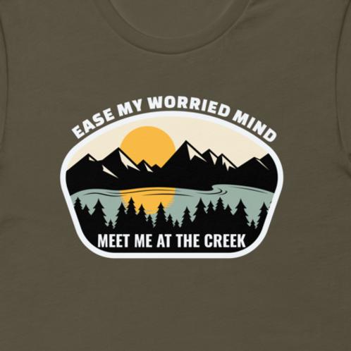 Meet Me At The Creek Bella + Canvas Premium Cotton | 33 BMFS THE GOAT