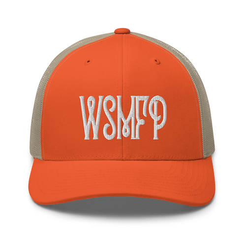 WSMFP Trucker Cap | Flat Embroidery | Inspired Widespread Panic Lot