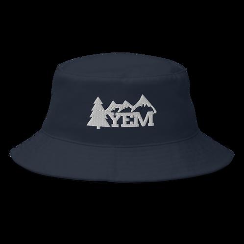 YEM Tree Bucket Hat   Flat Embroidery   Inspired Phan Art