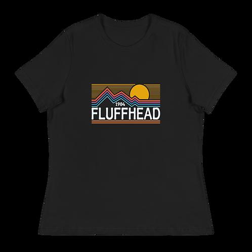 Fluffhead Mountains 1984 Retro Women's Relaxed T-Shirt   Bella + Canvas 6400