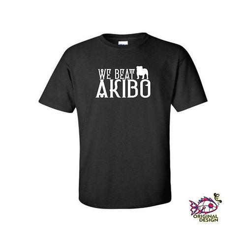 We Beat Akibo Harpua Shirt | Gildan Heavy Cotton