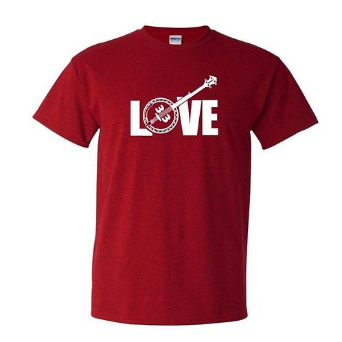 LOVE Banjo 33 Shirt | Gildan Heavy Cotton