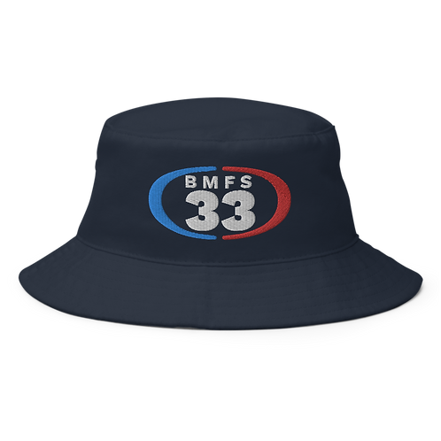 BMFS 33 Bucket Hat | Flat Embroidery | Inspired Billy Art