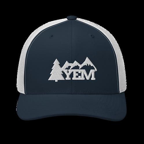 YEM Tree Trucker Cap | Flat Embroidery | Phish Inspired Art