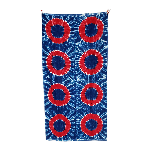 """Red Donut Beach Towel 30""""x60""""  