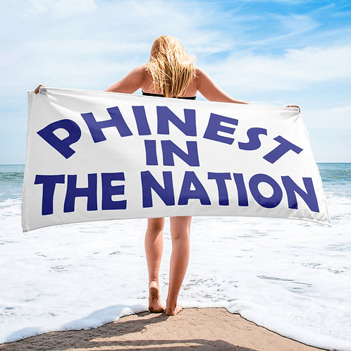 """Phinest In The Nation Beach Towel 