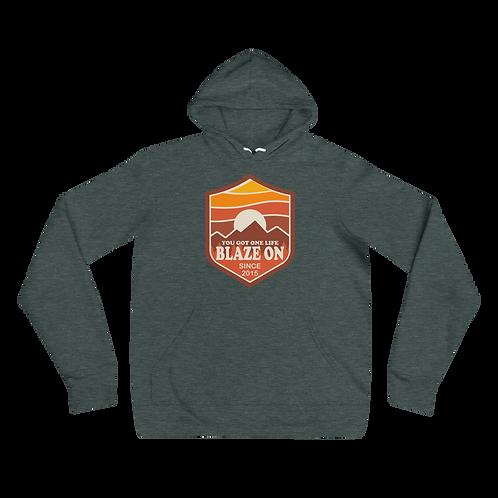 Blaze On Bella+Canvas Premium Unisex hoodie